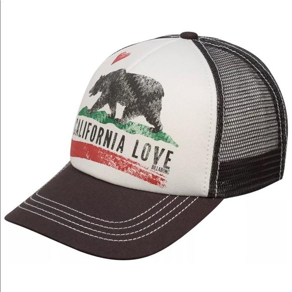 8ed7c884 Billabong Accessories - 🛍Billabong California Love Truckers hat women's